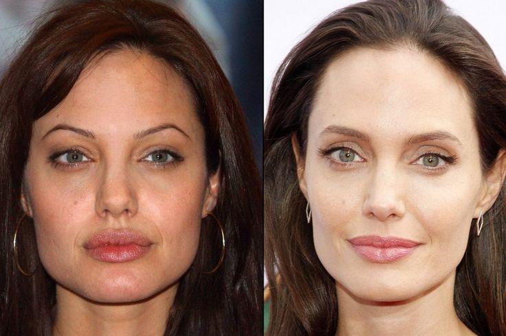 So sehr verändern Augenbrauen das Gesicht -                         Angelina Jolie: Früher dünn und eckig – heute voll, natürlich und weich: Keine Frage, Angelina Jolie (41) ist so oder so eine schöne Frau, doch die natürlichen Augenbrauen stehen der Schauspielerin zweifellos besser und lassen sie natürlich schön und irgendwie ladylike wirken.