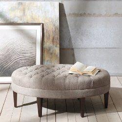 oval ottoman coffee table
