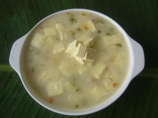 Colombia - La receta del Mote de queso.