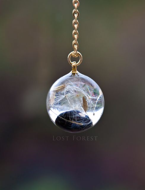 Custom 'Baby Bean' Necklace by Lost Forest Jewellery