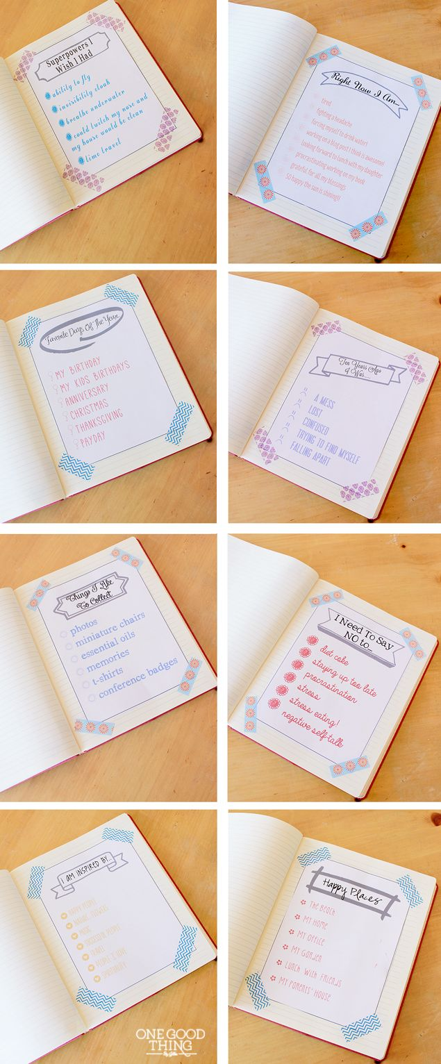 Journaling Made Easy….Make A List!