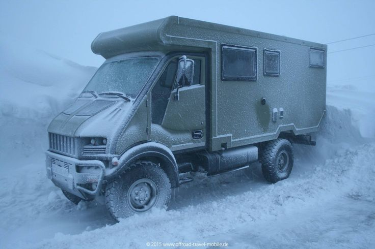 Bremach T-Rex 4x4 / 4x4 IVECO Daily | Offroad Travel Mobile