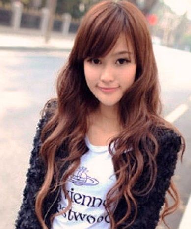 Cute korean hairstyles 2014