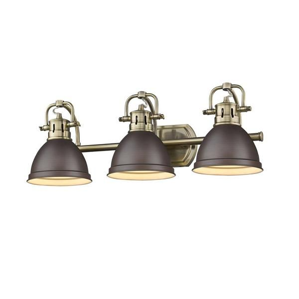 Free Shipping Purchase The Duncan Vanity Light With Bronze And