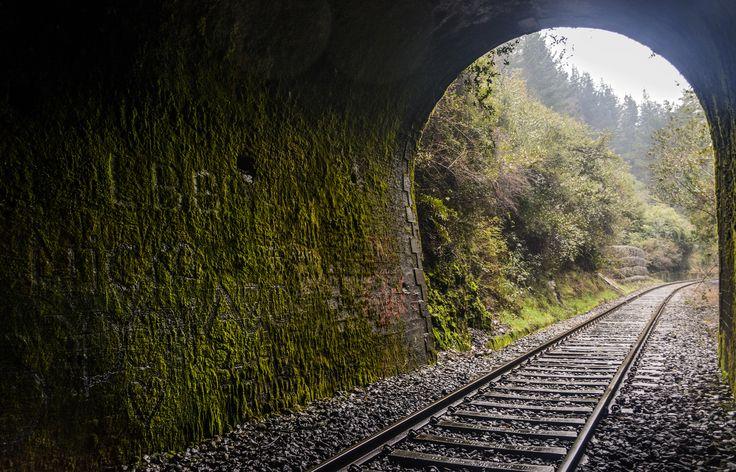 Tunnel / tunel 01 Los Lagos, Chile #tunnel #chile
