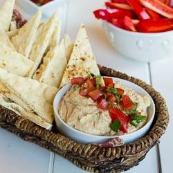 California Pizza Kitchen's Tuscan Hummus- the best!