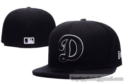 01837619c1a6b Los Angeles Dodgers Fitted Hats D Letter Baseball Hats 003