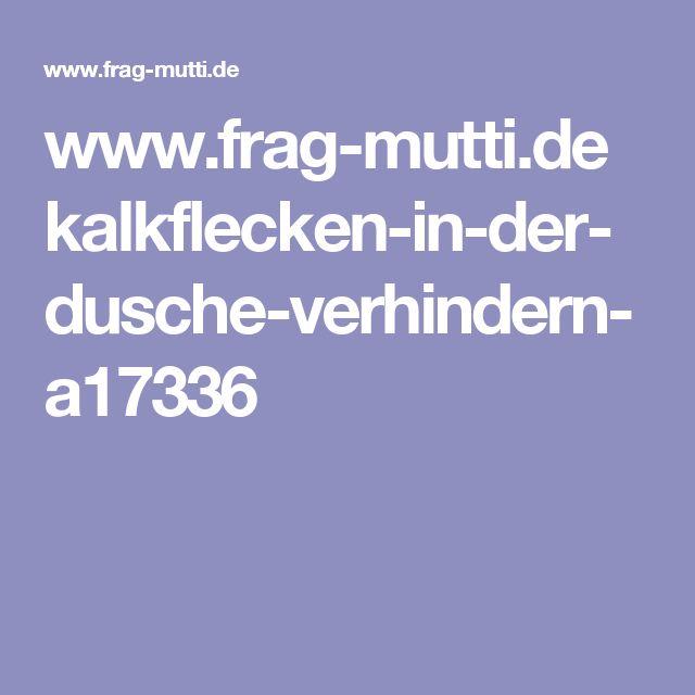 www.frag-mutti.de kalkflecken-in-der-dusche-verhindern-a17336