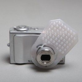 Flash diffuser for your point and shoot