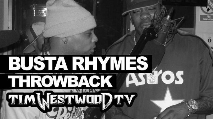 Here's A Freestyle Busta Rhymes & Spliff Star Kicked On The Tim Westwood Show Back In 1999...