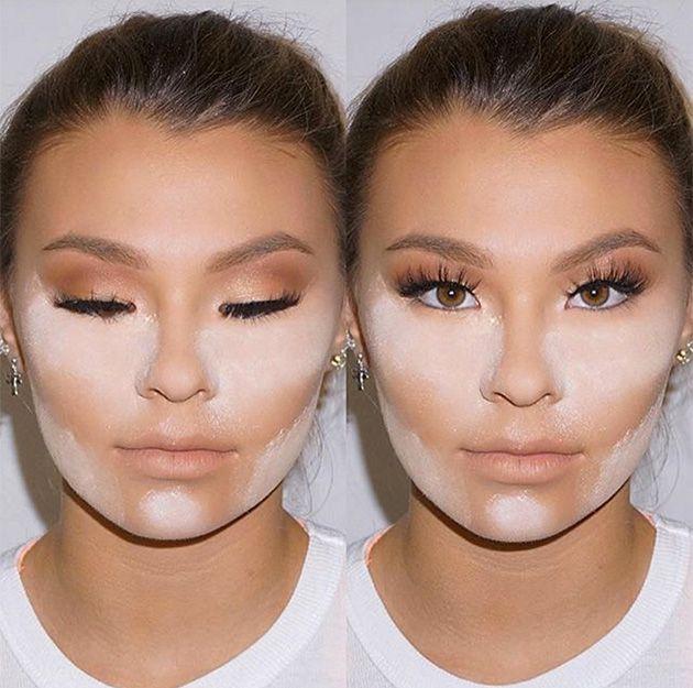 Контурный макияж - это совсем не так сложно, как может показаться на первый взгляд, и совсем не обязательно быть профессионалом, чтобы сделать его хорошо. Все зависит от формы твоего лица. Простые схемы, которые мы нарисовали на примере звезд, помогут тебе создать безупречный макияж. Круче, чем у Ким!