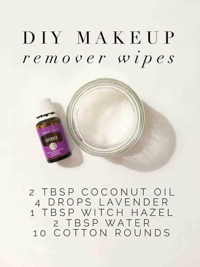 DIY: Makeup remover!