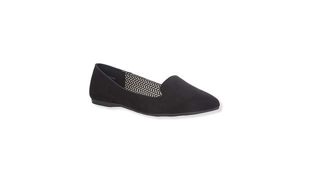 "Ballet Pumps. ""Simple and chic, you can't go wrong with a classic pair of black pumps."""