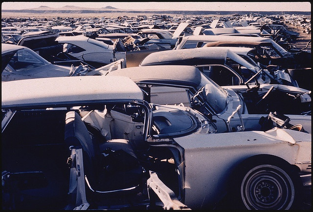 gaede 39 s wrecking yard albuquerque new mexico danny lyon april 1972 39 70 39 s cars. Black Bedroom Furniture Sets. Home Design Ideas
