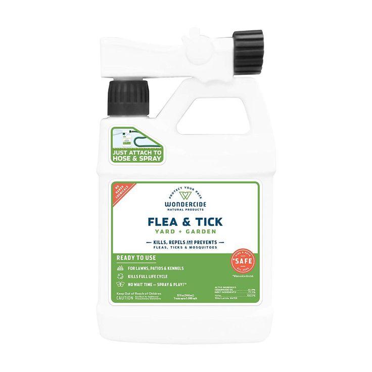Amazon Com Wondercide Ready To Spray Natural Flea And Tick Yard