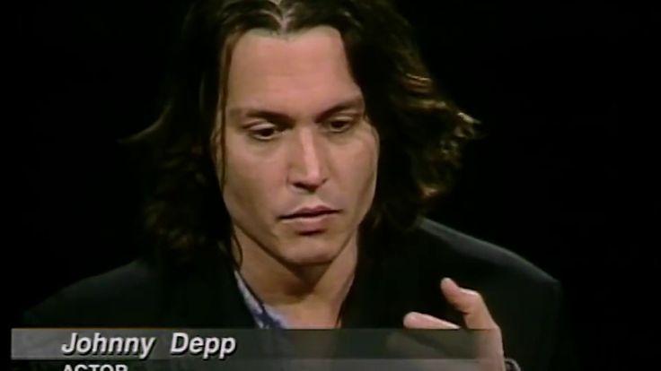Johnny Depp Job İnterview On Charlie Rose 1999 & Jon Bon Jovi 1997