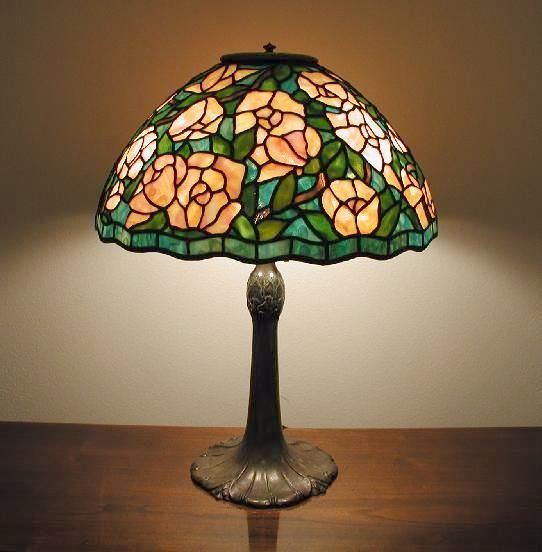 25 best ideas about stained glass lamp shades on for Lamp shade painting ideas