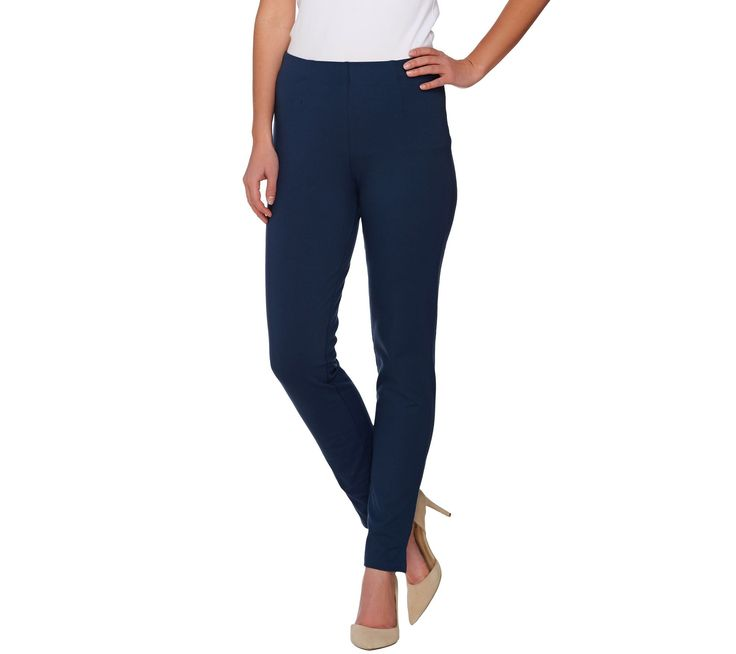 Women with Control Regular Hollywood Waist Ankle Pants