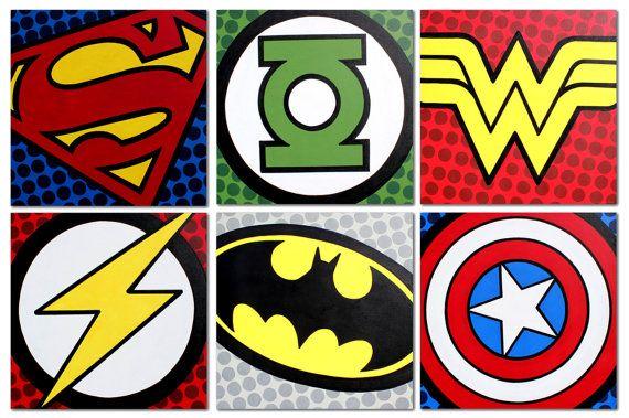 Justice League Emblems 1000+ ideas about Just...