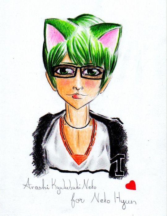 Arashi Kyuketsuki Neko Scribbler
