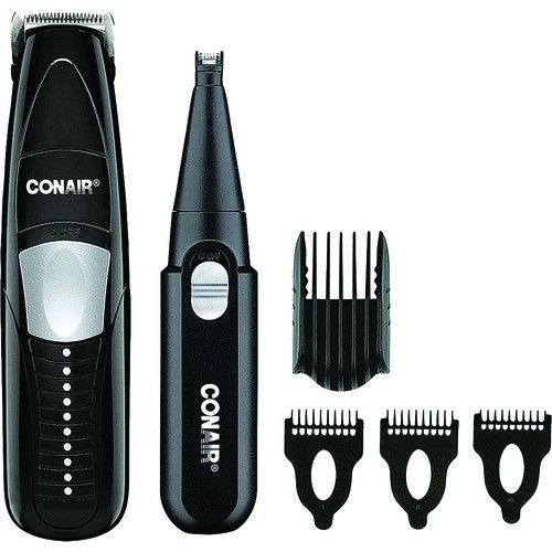 Men's Grooming Tools:Conair 2-In-1 Beard & Mustache Trimmer