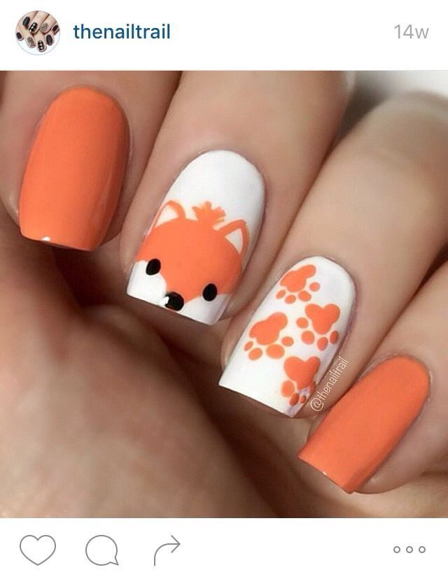 13 best Woodland images on Pinterest | Fox nails, Fox and Beauty