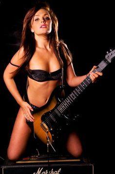 Naked lady guitar zappa