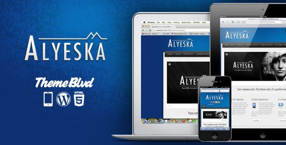 Alyeska Responsive WordPress Theme   http://themeforest.net/item/alyeska-responsive-wordpress-theme/164366?ref=damiamio         	 Elegance. Flexibility. Awesomeness. These are the words that instantly come to mind when trying describe this amazing WordPress theme. This is the theme that's going to get you or your client's site up and running in no time. With all of the possible combinations of layout options, you're sure to end up with a unique, elegant website that you can be proud of…