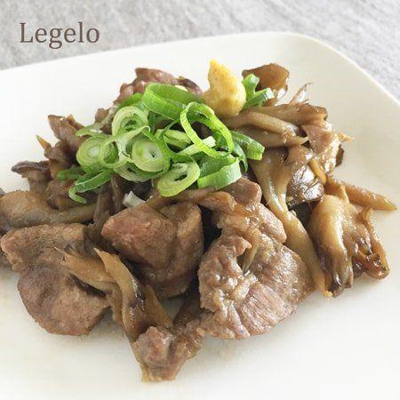 豚と舞茸のソテー☆ 豚肩ロース ブロック レシピ
