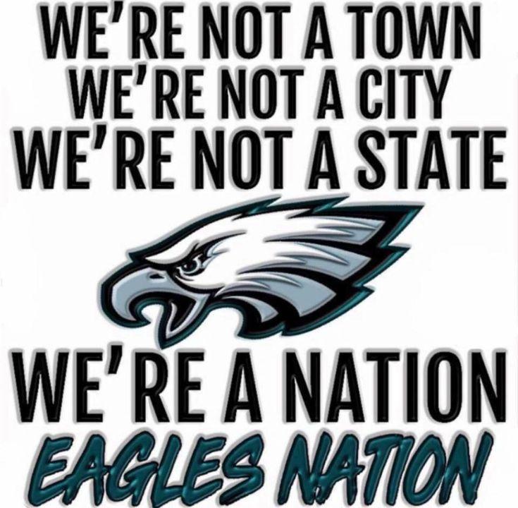 Rise up Eagles nation!