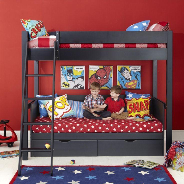 die besten 25 etagenbett mit treppe ideen auf pinterest. Black Bedroom Furniture Sets. Home Design Ideas
