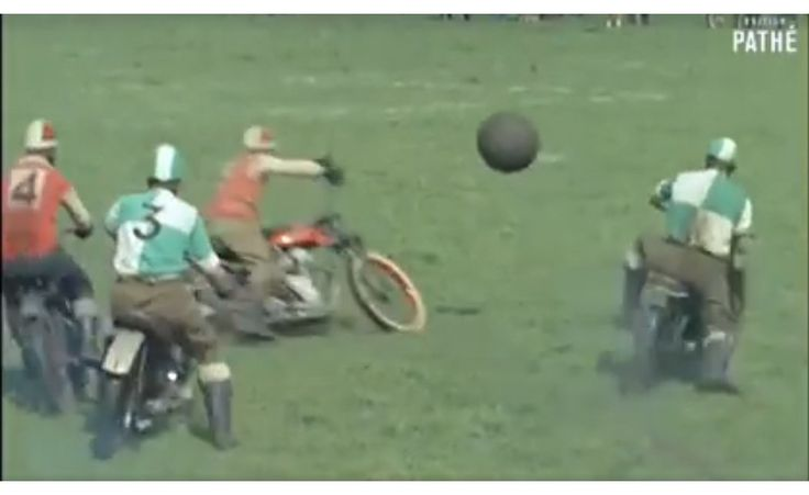 Motorcycle Soccer Needs To Be A Thing Again
