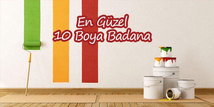 2018 boya badana trendleri doğrultusunda evlerinize hava katacak en güzel 10 boya badana uygulamasını sunmaktayız. İstanbul boya badana ustaları tarafından