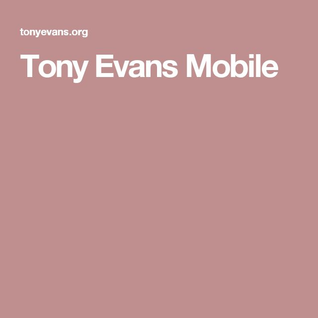 tony evans sermons on father's day