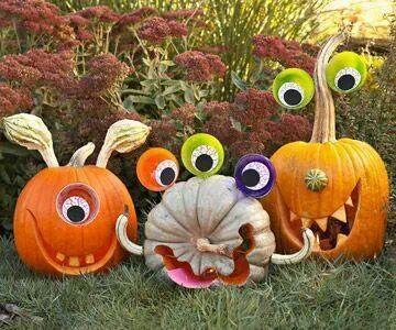 pumpkin decorating - Pumpkin Decoration
