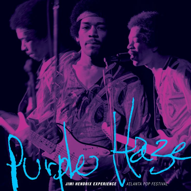 """""""Purple Haze""""/""""Freedom"""" 7"""" single (Experience Hendrix/Legacy). Both tracks are taken from a live performance at the Atlanta Pop Festival in Byron, Georgia, on July 4, 1970. #rsd2015"""
