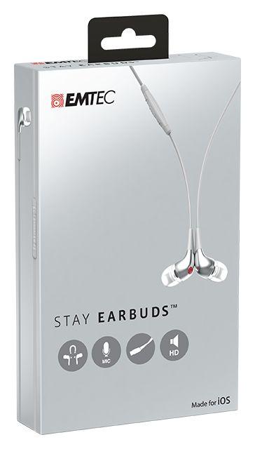 Stay Earbuds iOS packaging #EMTEC #StayEarbuds #Audio
