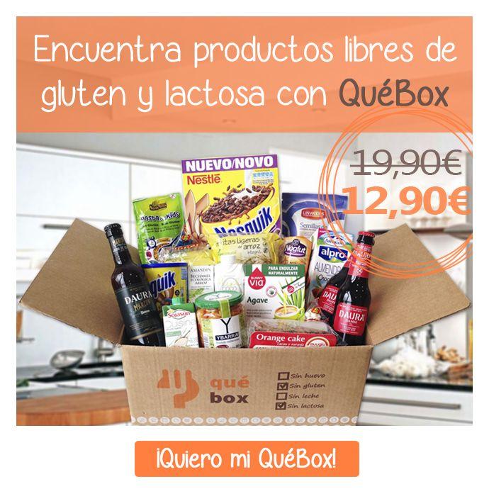 QuéBox Sin Gluten y Sin Lactosa