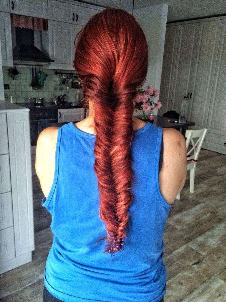 #redhead#braid