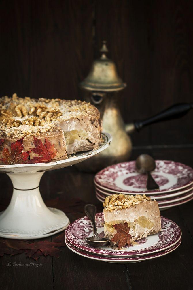 Tarta de castañas y manzana. Tarta Garrucha