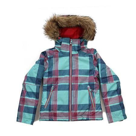 Куртка детская Roxy Jetty Ski Daya Plaid Blue Radi  — 6289р. --- Приталенная и уютная сноубордическая куртка со съемным мехом. Смелые и модные принты, переплетенные с технологичной мембраной DryFlight® 10К и утеплителем Warmflight® будут держать Вас в тепле в холодные зимние дни.Технические характеристики: Технологичная саржа из полиэстера.Утеплитель Warmflight®.Подкладка из тафты со вставками из трикотажа с начесом.Критические швы проклеены.Съемный капюшон.Съемная отделка на капюшоне из…
