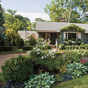 Some great landscaping ideas can be found on multiple sites such as Southern Living.