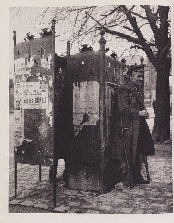 Robert Doisneau - Blaise Cendrars: La banlieue de Paris. 1949