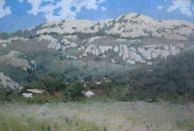 Горный пейзаж маслом > «Черногория»