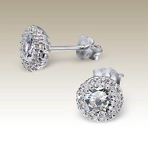 Prachtige knop oorbellen uit de collectie van Khushi Jewels