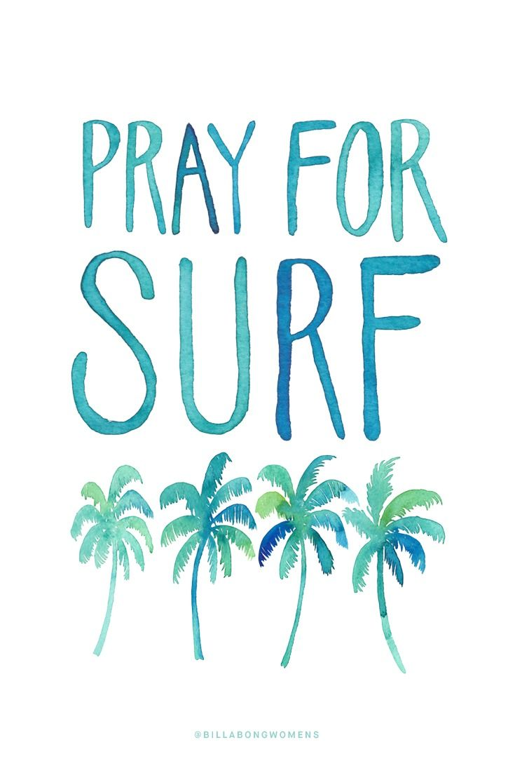 Pray for Surf :: Bring the swells