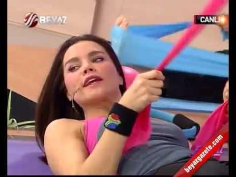 Ebru şallı ile pilates dersleri 19.06.2016 - YouTube