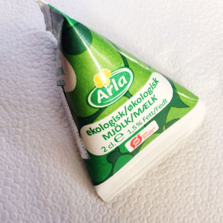 Arla tetrapak mini milk packaging