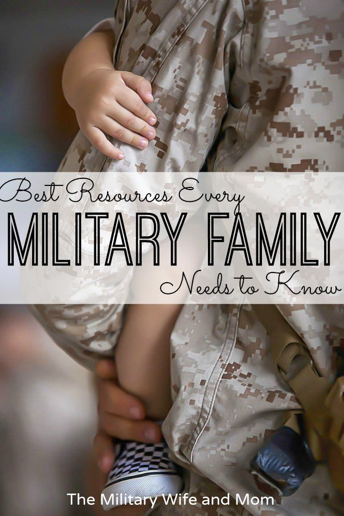 Best Military Family Resources Everyone Should Know - The Military Wife and Mom