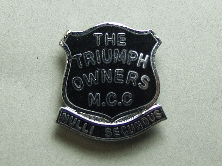 【The Triumph Owners M.C.C】ピンバッジ